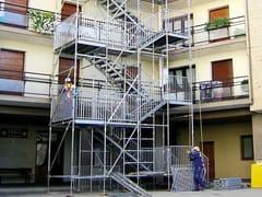 SICUREZZA E ATTREZZATURE PER CANTIERE Scala Pubblica BRIO - ULMA Construction