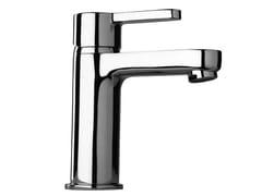 - Chrome-plated 1 hole washbasin mixer CORNER | Chrome-plated washbasin mixer - Giulini G. Rubinetteria