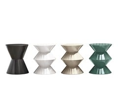 - Outdoor stool / coffee table CESAR OUTDOOR - Minotti