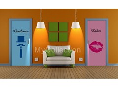 Door sticker Ladies - MyCollection.it