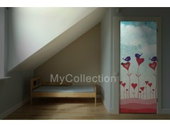 Door sticker HEART - MyCollection.it