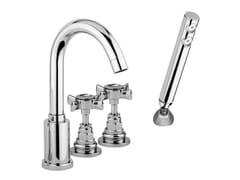 - 4 hole bathtub set with Swarovski® crystals G5 CRYSTAL | 4 hole bathtub set - Giulini G. Rubinetteria