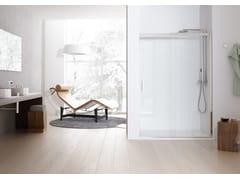 - 2 places niche shower cabin with sliding door SOLODOCCIA SLIDING P1S - MEGIUS
