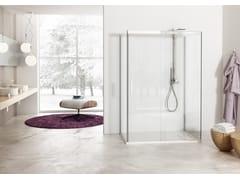 - 2 places shower cabin with sliding door SOLODOCCIA SLIDING A1S - MEGIUS