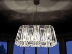 - Indirect light glass chandelier GLITTERS | Chandelier - Lasvit