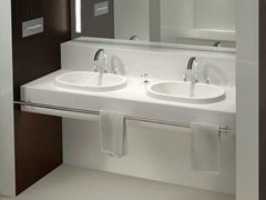 - Inset ceramic washbasin ARCHITECTURA | Inset washbasin - Villeroy & Boch