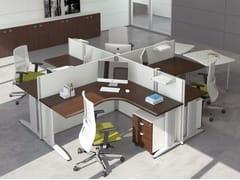 - Multiple office workstation FORMAT | Multiple office workstation - Las Mobili
