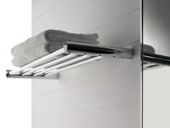 - Steel bathroom wall shelf TANGO | Steel bathroom wall shelf - ZAZZERI