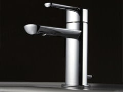 - Countertop steel washbasin mixer TANGO | Washbasin mixer - ZAZZERI