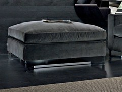 - Upholstered fabric pouf PORTFOLIO | Pouf - MOLTENI & C.