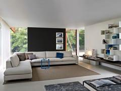 - Corner sectional fabric sofa PORTFOLIO | Corner sofa - MOLTENI & C.