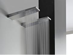 - Wall-mounted 1-spray steel overhead shower 100 | Overhead shower - ZAZZERI