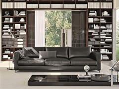 - Recliner leather sofa REVERSI | Leather sofa - MOLTENI & C.