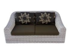 - 2 seater garden sofa PROVENCE | 2 seater sofa - Sérénité Luxury Monaco