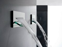 - Wall-mounted waterfall shower SHIRÒ | Waterfall shower - ZAZZERI