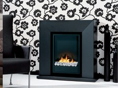 - Bioethanol wall-mounted fireplace DIABLO - BRITISH FIRES
