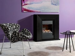 - Wall-mounted electric fireplace DIABLO - BRITISH FIRES