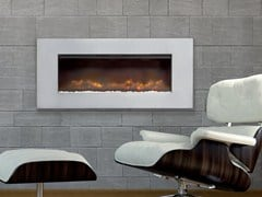 - Electric built-in hanging fireplace HAMBLETON - BRITISH FIRES