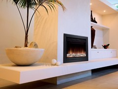 - Wall-mounted electric built-in fireplace WHITWELL - BRITISH FIRES
