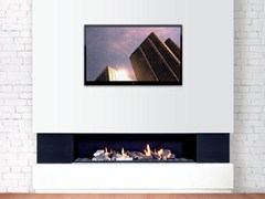 - Gas wall-mounted fireplace DANCING FIRE 150 - BRITISH FIRES