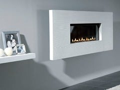 - Gas hanging wall-mounted fireplace FISSURE 60 - BRITISH FIRES