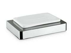 - Countertop ceramic soap dish X-SENSE ACCESSORIES | Soap dish - NEWFORM