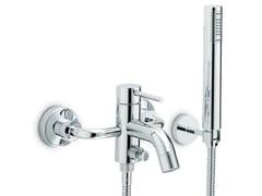- Wall-mounted single handle bathtub set with hand shower XT | Wall-mounted bathtub set - NEWFORM