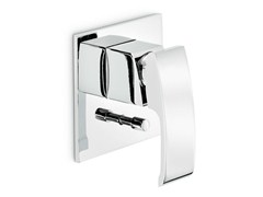 - Wall-mounted single handle 1 hole bathtub mixer X-SENSE | Wall-mounted bathtub mixer - NEWFORM
