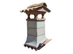 Chimney for roof TORRETTA LISCIA - Sarda Tegole