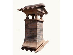 Chimney for roof TORRETTA CON MATTONCINO - Sarda Tegole