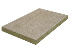 - Cement-bonded wood fiber thermal insulation panel THERAROCK™ A2-E21 - KNAUF INSULATION - Chivasso