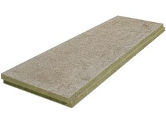 - Cement-bonded wood fiber thermal insulation panel THERAROCK™ A2-SD - KNAUF INSULATION - Chivasso