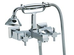 - Wall-mounted bathtub tap with overhead shower BRIDGE   Bathtub tap with overhead shower - Rubinetterie 3M