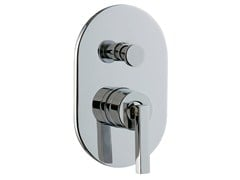 - Single handle shower mixer with plate CUT | Shower mixer with plate - Rubinetterie 3M