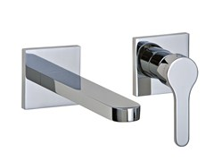- 2 hole wall-mounted washbasin mixer KLAB | Wall-mounted washbasin mixer - Rubinetterie 3M