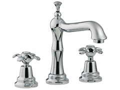 - 3 hole countertop washbasin tap NUOVA RETRÒ | Countertop washbasin tap - Rubinetterie 3M