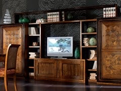 - Sectional wooden storage wall CA' VENIER | Sectional storage wall - Cantiero