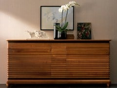 - Solid wood sideboard with doors with drawers ELETTRA DAY | Sideboard - Cantiero