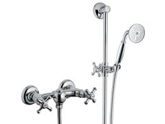 - 2 hole shower tap with hand shower OLD ITALY | Shower tap with hand shower - Rubinetterie 3M