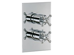 - 2 hole thermostatic shower mixer OLD ITALY | 2 hole thermostatic shower mixer - Rubinetterie 3M