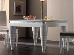 - Lacquered rectangular wooden table ELETTRA DAY | Lacquered table - Cantiero
