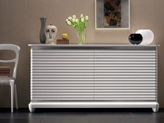 - Lacquered solid wood sideboard with doors ELETTRA DAY | Solid wood sideboard - Cantiero