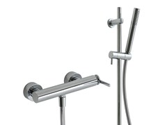 - 2 hole shower mixer with hand shower TIME | Shower mixer with hand shower - Rubinetterie 3M