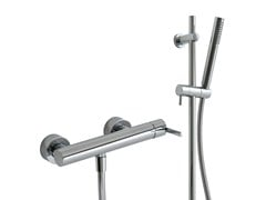 - 2 hole shower mixer with hand shower TIME_OUT | Shower mixer with hand shower - Rubinetterie 3M