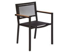 - Aluminium garden armchair with armrests LUI | Garden armchair - Il Giardino di Legno
