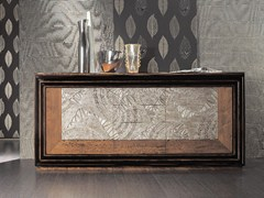 - Silver leaf sideboard with doors with drawers ÉTOILE DAY | Sideboard with drawers - Cantiero