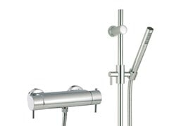 - Thermostatic shower mixer with hand shower VELA | Thermostatic shower mixer with hand shower - Rubinetterie 3M