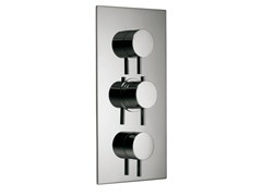 - 3 hole thermostatic shower mixer with diverter VELA | 3 hole thermostatic shower mixer - Rubinetterie 3M
