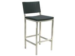 - High steel garden stool HALTO | Polyethylene garden stool - Il Giardino di Legno