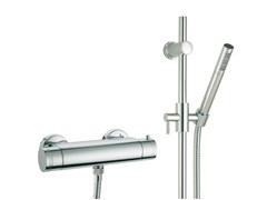 - Thermostatic shower tap with hand shower X-CHANGE | Thermostatic shower mixer with hand shower - Rubinetterie 3M